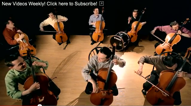 eight cellos