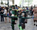 Green Arrow cosplayers