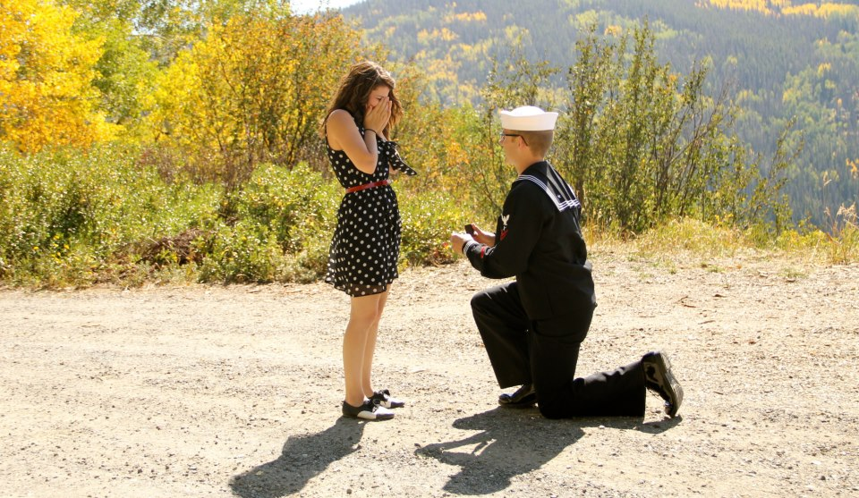 Josh proposes to Lacy