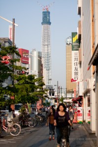 Sky Tree under construction
