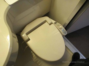 high tech toilet