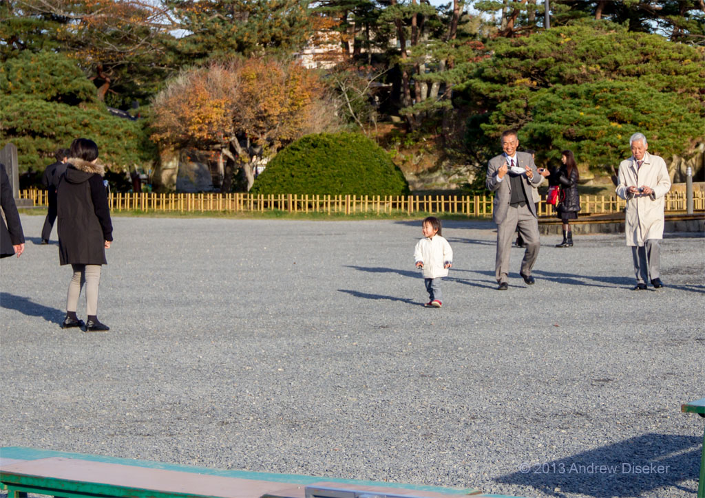 little girl and older people, Matsushima 2012